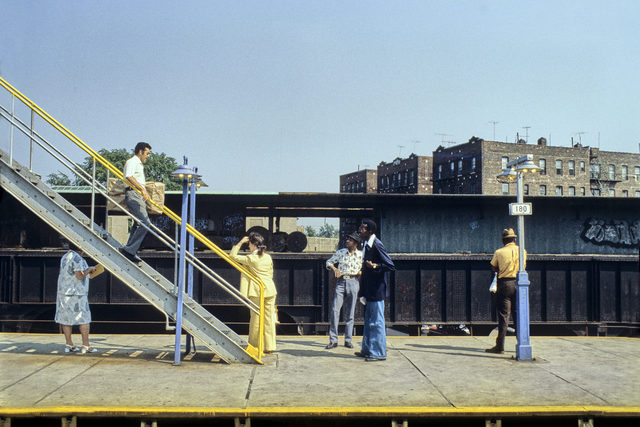 , 'Elevated Station 180 St in Queens,' 1982, CHRISTOPHE GUYE GALERIE
