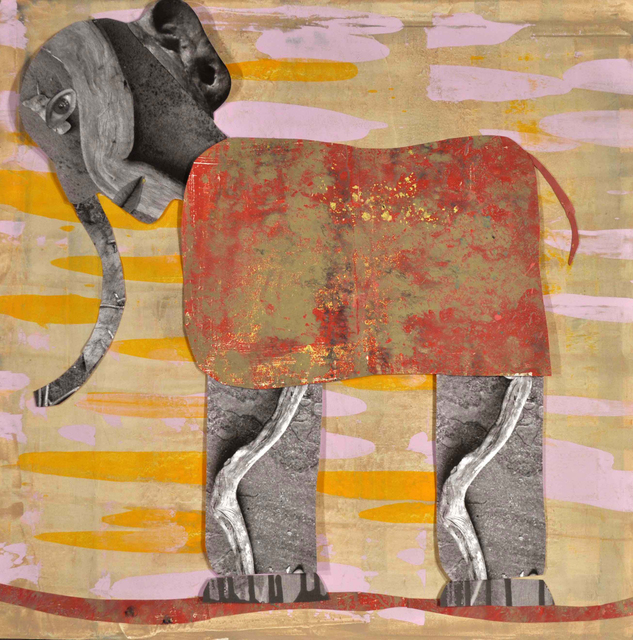 , 'Red Elephant,' 2015, Turner Carroll Gallery