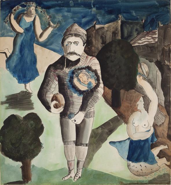 , 'O Goleiro,' 1929, Simões de Assis Galeria de Arte