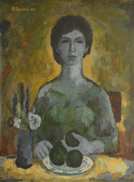 Vadim Semenovich Velichko, 'Woman by the table', 1985, Surikov Foundation