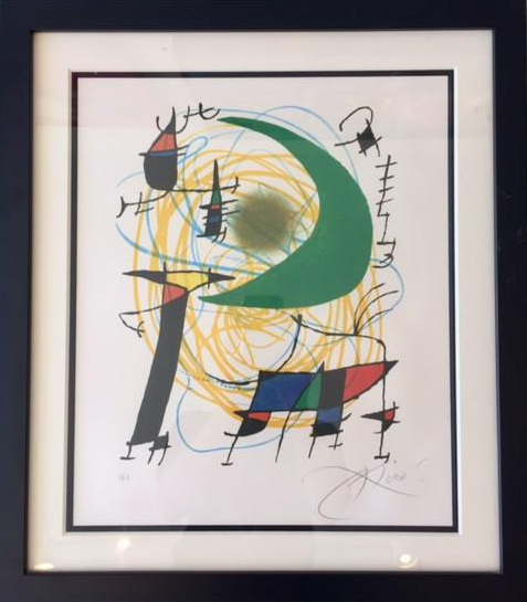 Joan Miró, 'Untitled(Signed Lithograph)', 1970-1975, Ethos Contemporary Art