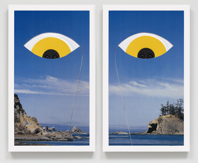 , 'Beach Eyes,' 2016, Josh Lilley