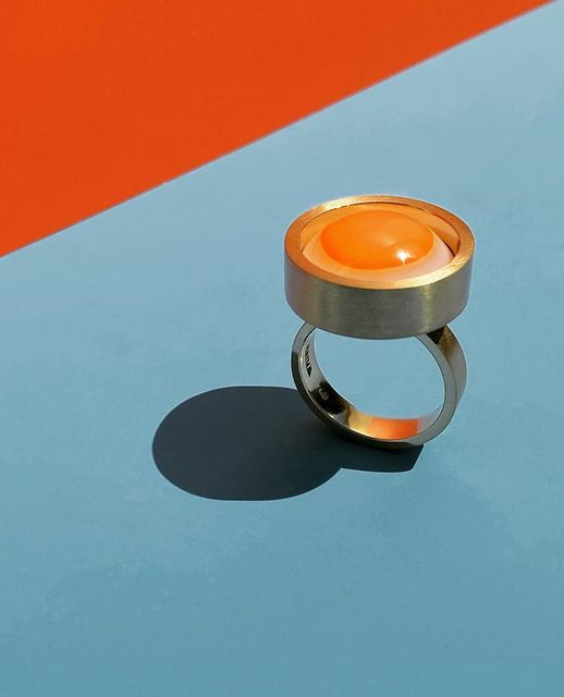 , ''Sunny Side Up' Ring,' 2020, Grima