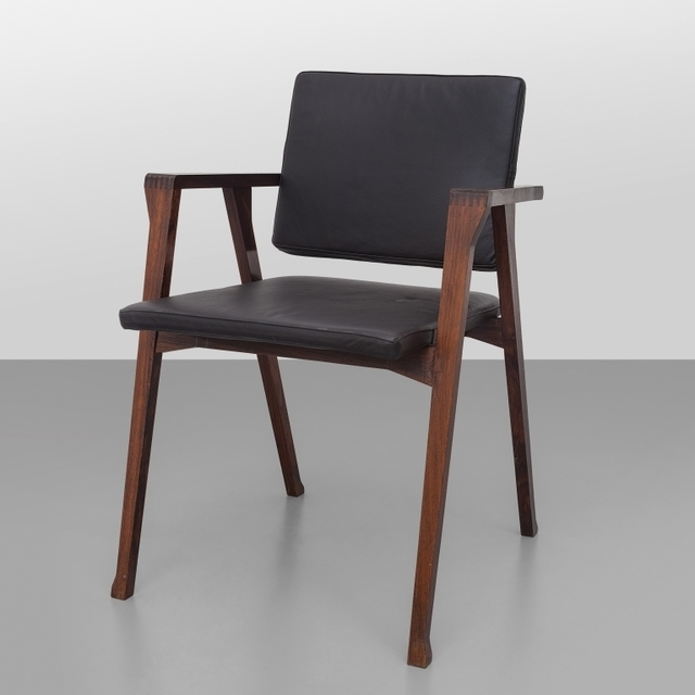 Franco Albini, 'A 'Luisa' armchair (Compasso d'oro 1955 Award)', 1955, Design/Decorative Art, Rosewood wood upholstered with leather., Aste Boetto