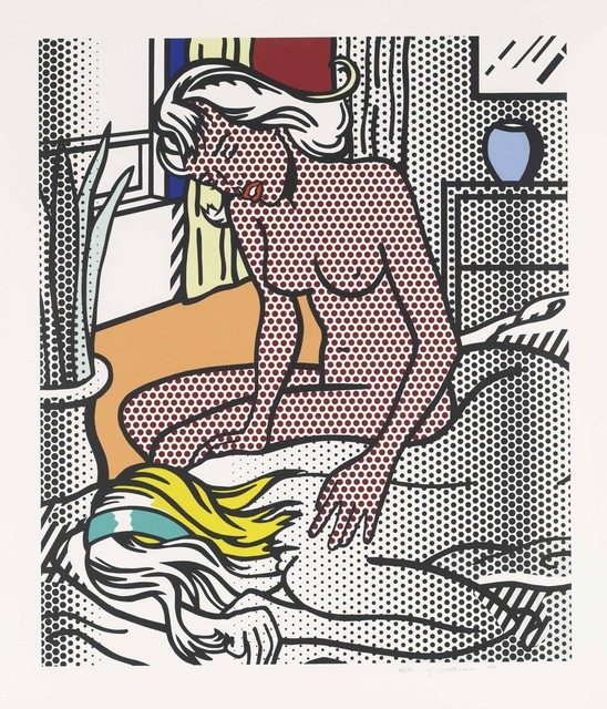 Roy Lichtenstein, 'Nudes Series: Two Nudes', 1994, Print, Relief print on Rives BFK mold-made paper, Coskun Fine Art