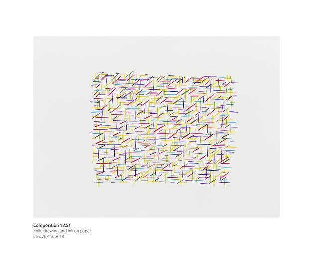 , 'Composition 18:51,' 2018, Dan Galeria