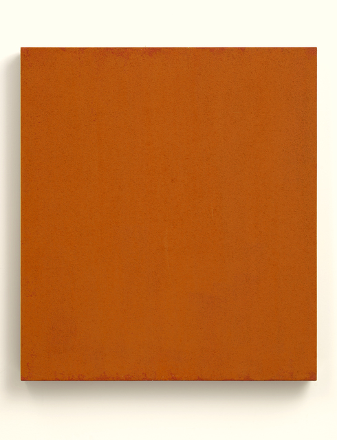 Phil Sims, 'Red Orange Studio Painting', 2004, Brian Gross Fine Art