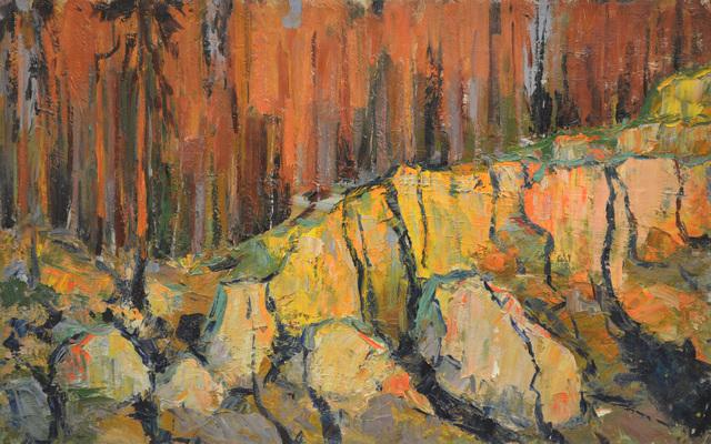 Vladimir Klimentevich Zhuk, 'Stones under the sun', 1964, Surikov Foundation