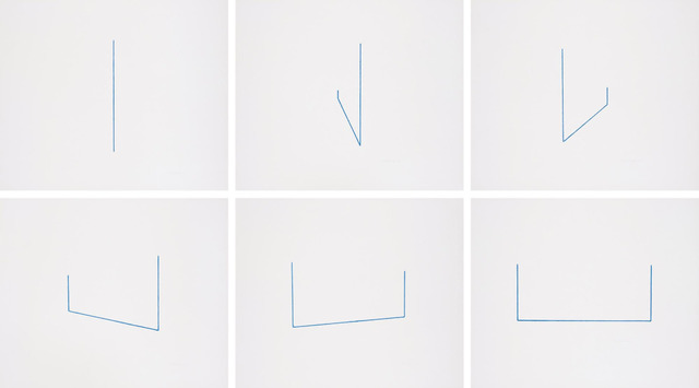 , 'Serie von 6 Lithographien (Six Lithographs),' 1975, Upsilon Gallery