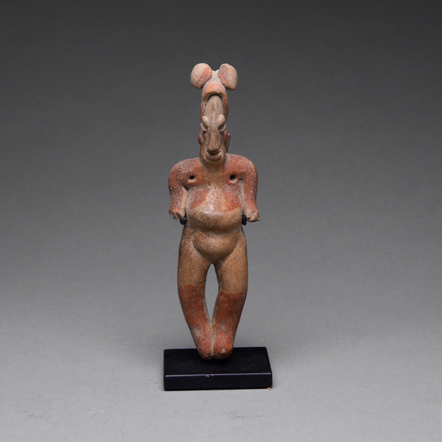 Colima Culture, 'Colima Sculpture of a Standing Woman', 300 BC to 300 AD, Barakat Gallery