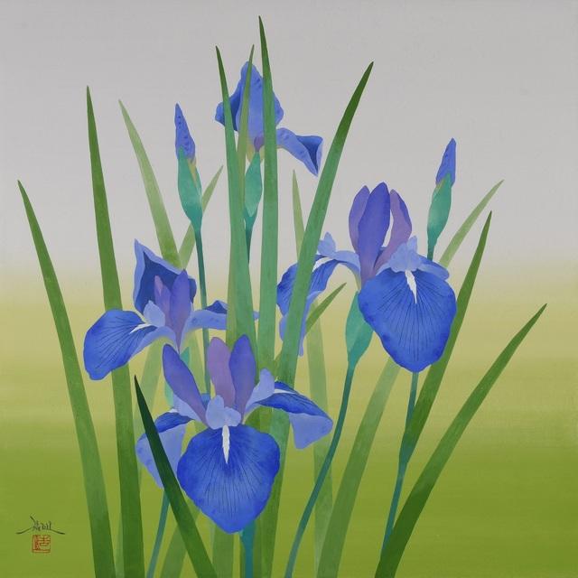 , 'Kakitsubata (Japanese Iris),' 2018, SEIZAN Gallery