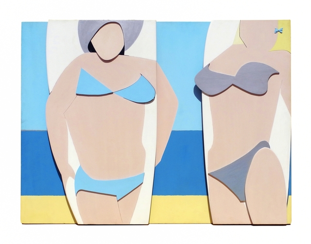 , 'Board Girls,' 1968, Charles Nodrum Gallery