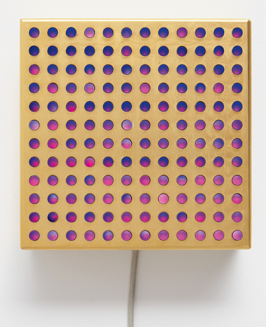 Leo Villareal, 'Bulbox 4.0', 2007, Phillips