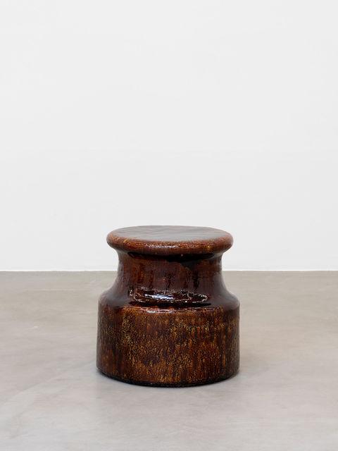 , 'Points d'observation n°17, brun,' 2014-2015, Almine Rech Gallery