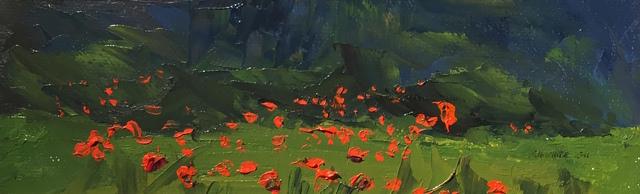 , 'The Poppy Field,' 2011, Grenning Gallery