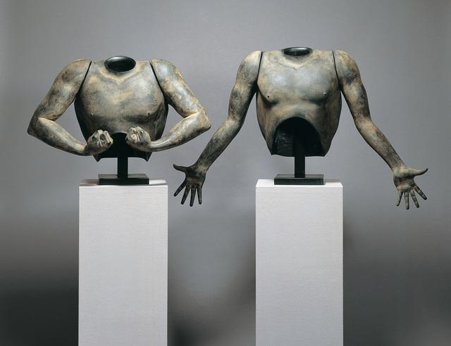 , 'Men's Armor/ 男の鎧 阿・吽,' 1991, Y's Gallery