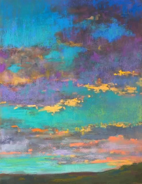 , 'Aqua Sunset,' 2018, 530 Burns Gallery