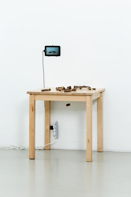 Nestor Engelke, 'ARCHITECT WOODMAN'S DESKTOP', 2019, Anna Nova Gallery