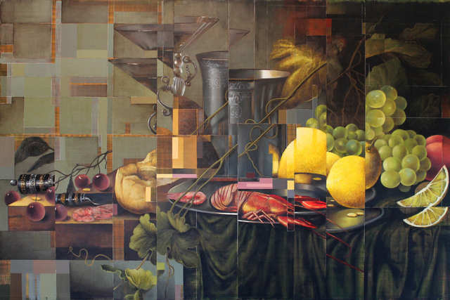 , 'Restructured Still Life with Lemons and Crayfish,' 2015, DECORAZONgallery