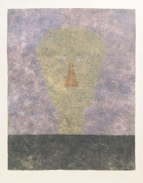 , 'Cabeza Sobre Fondo Rosa (Head on Pink Background),' 1984, Zane Bennett Contemporary Art