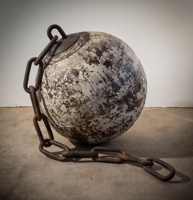, 'Ball and Chain (Wrecking Ball),' 2016, 212GALLERY