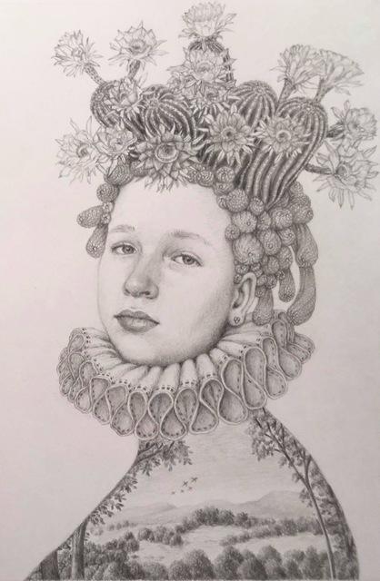 , 'Infanta Delicada,' 2019, Andra Norris Gallery