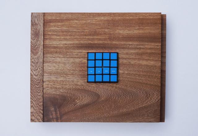 , 'Puntos Ciegos ( Blue ),' 2017, BETA Galería