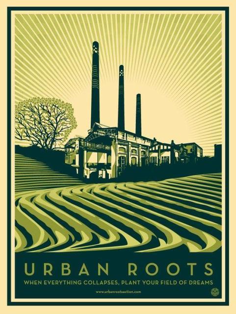 Shepard Fairey, 'Urban Roots', 2011, Artsnap