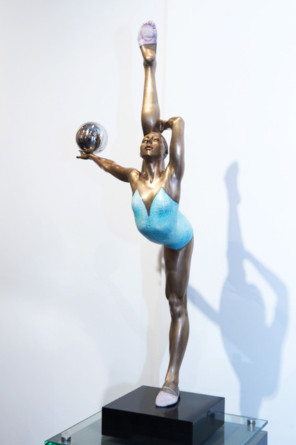 , 'Dancer with Sphere,' 2016, KM Fine Arts