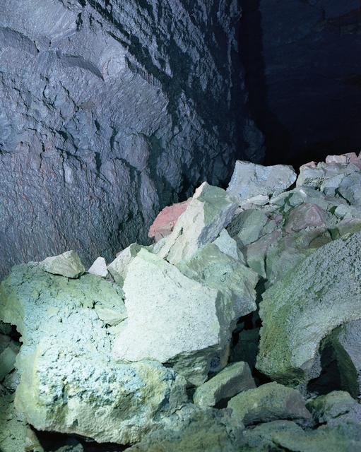 , 'The Cave Series, Vigdelmir Cave 2,' 2017, Prosjektrom Normanns