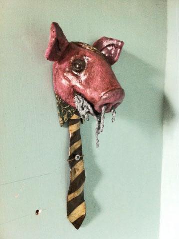, 'Porc amb corbata,' , Contrast Gallery