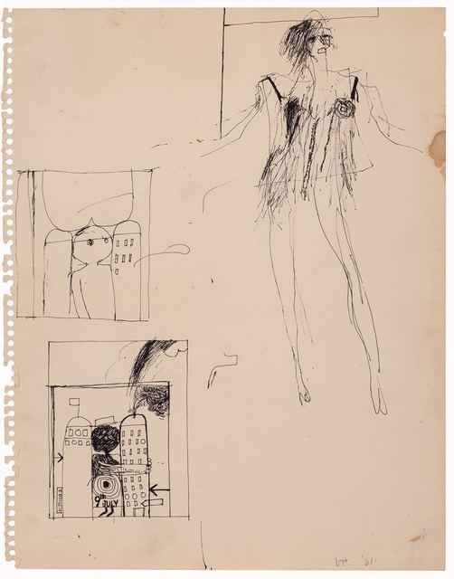David Hockney, 'Untitled', 1961, Doyle
