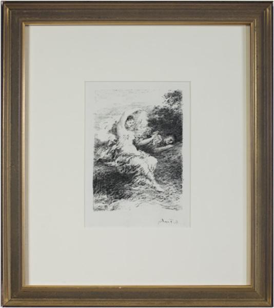 , 'Les Bucoliques X,' 1904, David Barnett Gallery