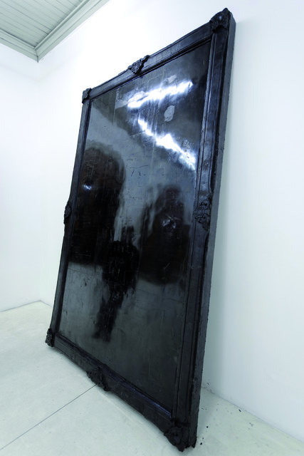, 'Coal Mirror,' 2011, Y Gallery