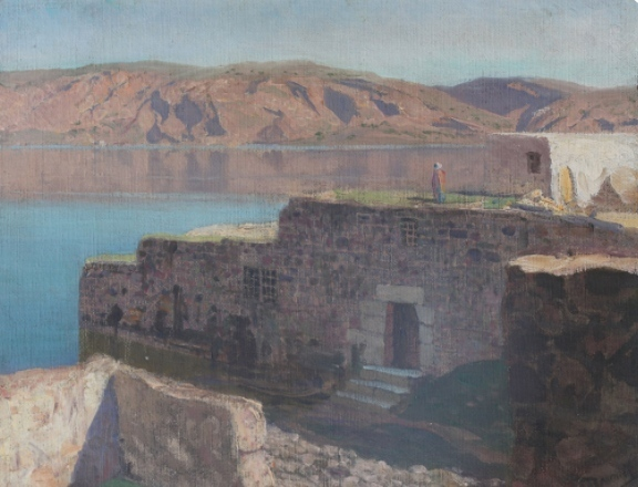 , 'Tiberias ,' , Vassily Polenov Fine Arts Museum and National Park