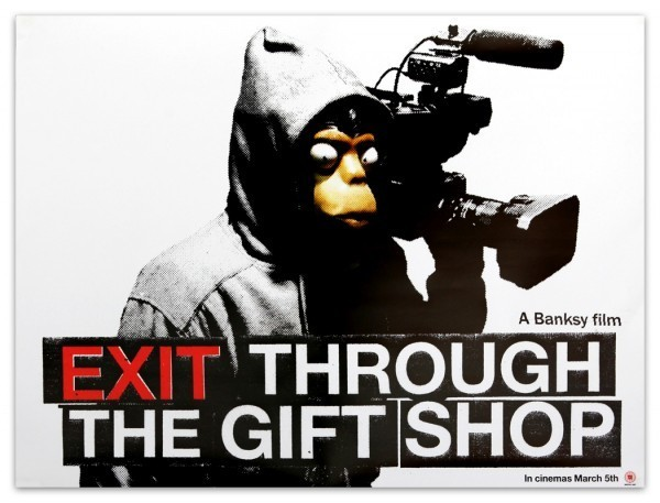 Banksy, 'Exit Through the Gift Shop poster & Bafta press pack', 2010, Kumi Contemporary / Verso Contemporary