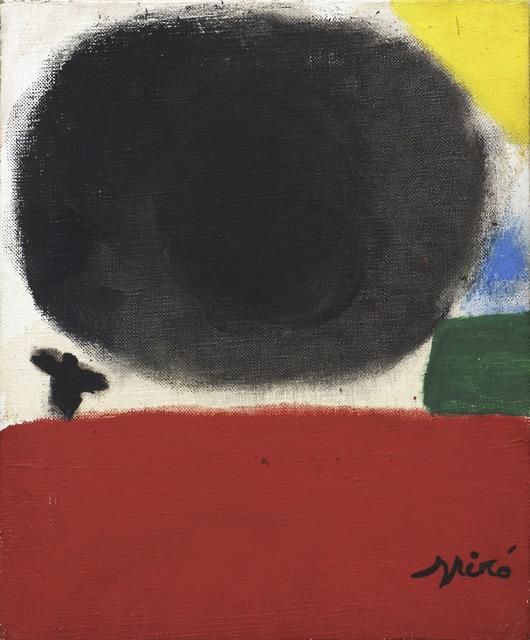 Joan Miró, 'Landscape', 1977, Helwaser Gallery