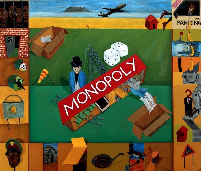 , 'Monopoly,' 2018, Barnard