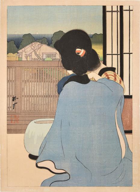 Kogan Tobari, 'Hot Spring Inn', 1921, Ronin Gallery