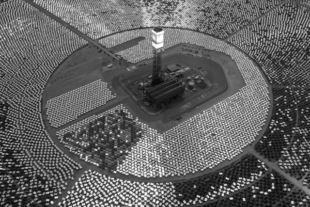 Jamey Stillings, 'Evolution of Ivanpah Solar, #11590 September 5,' 2013, photo-eye Gallery