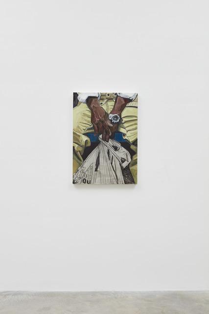 , 'Subway Hands 2,' 2017, Casey Kaplan
