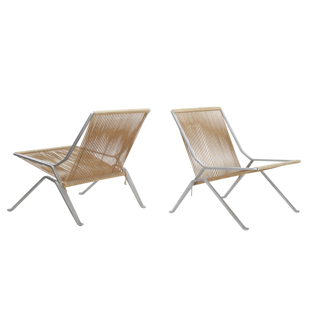 , 'Pair of PK 25 chairs,' 1952, Dansk Møbelkunst Gallery