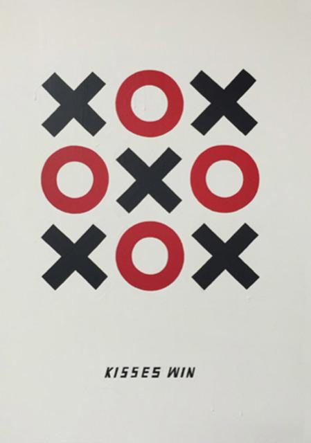 , 'Kisses Win,' 2014, Winston Wächter Fine Art