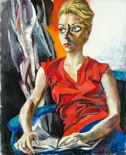 Renato Guttuso, 'Ritratto di Genni De Ponti', 1960, Painting, Oil on canvas, Finarte
