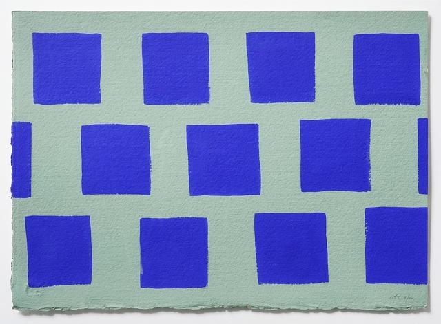 , 'Paris Gouache 4,' 2000, Charles Nodrum Gallery