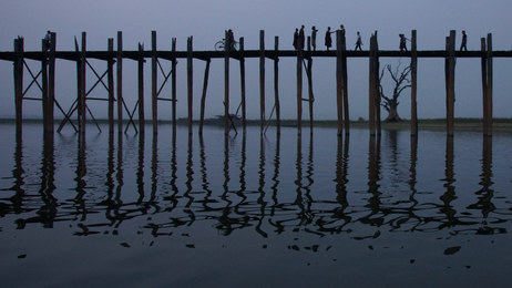 U Bein Bridge, Burma