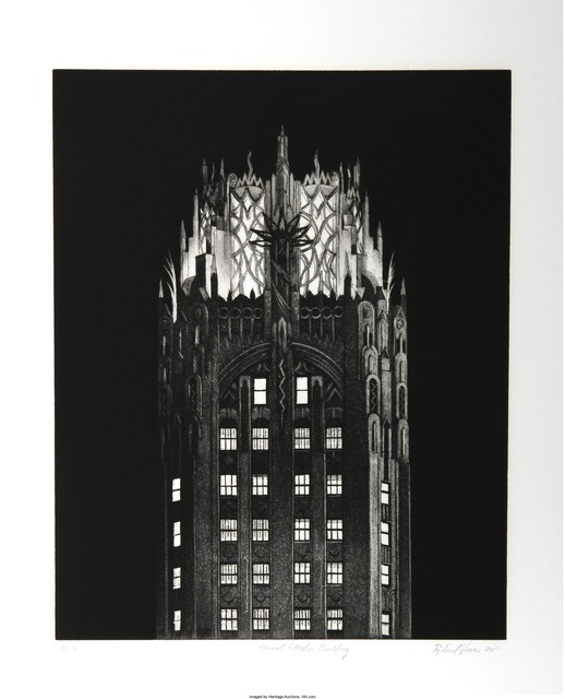 Richard Haas, 'General Electric Building', Heritage Auctions