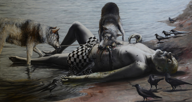 , 'ON THE BANK OF SILENT RIVER,' 2015, Bellart Gallery