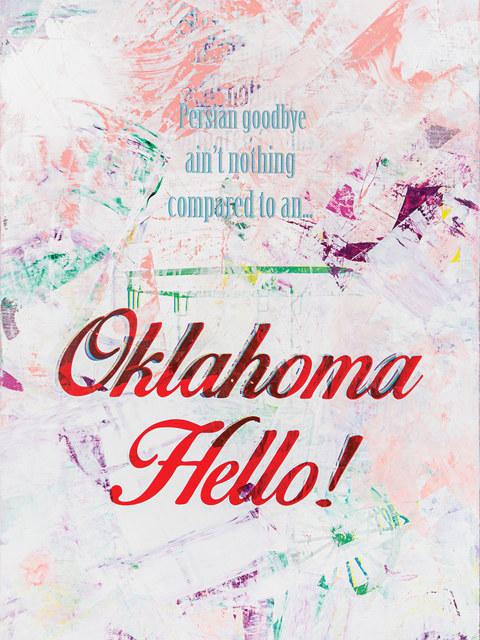 , 'Oklahoma Hello!,' 2015, Garis & Hahn