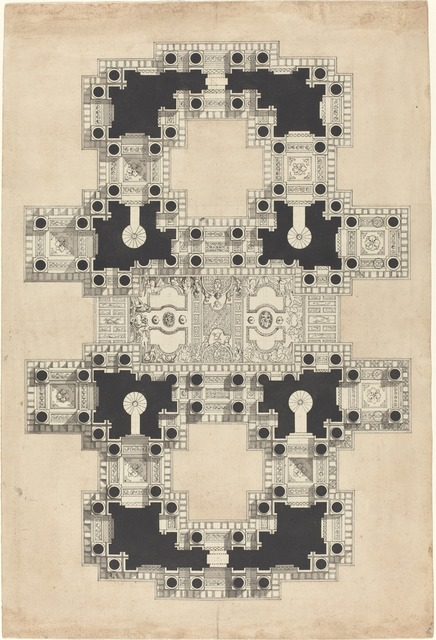 Pierre Varin, 'Plan for a Decorated Ceiling', ca. 1750, National Gallery of Art, Washington, D.C.